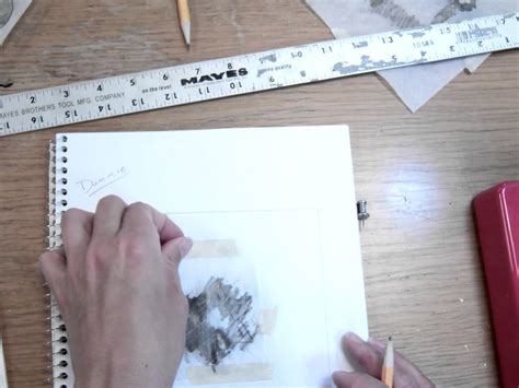 How To Make Tracing Paper - tracing paper transfer mov