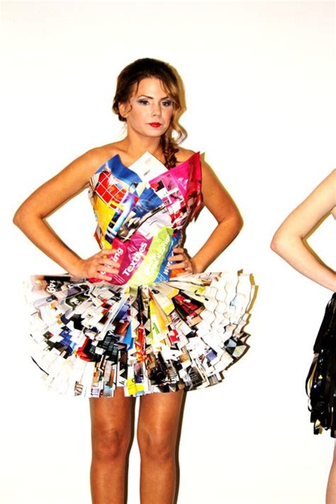 How To Make A Dress Out Of Paper - shake of beautiful the free fall