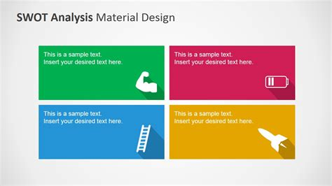 design analysis template swot analysis powerpoint template clipart metaphors
