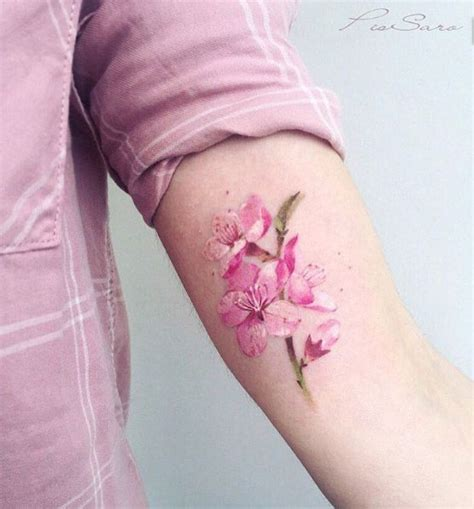 tattoo flower blossom 48 cherry blossom tattoos that are way beyond perfect