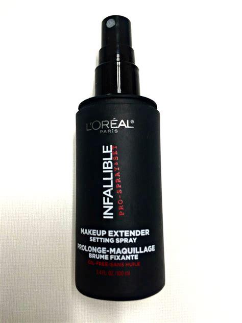 L Oreal Infallible Makeup Extender Setting Spray crush l oreal infallible pro spray set makup extender