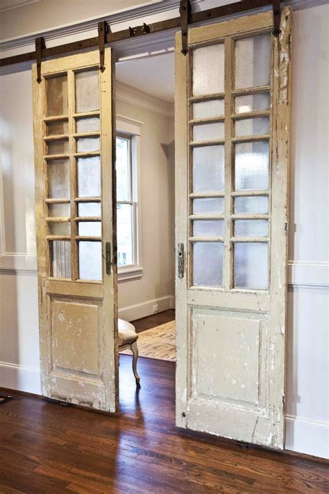 Decorative Barn Doors For Sale Barn Doors Interior For Sale Interior Barn Door Pair Of Orange Barn Doors Conceal A Laundry