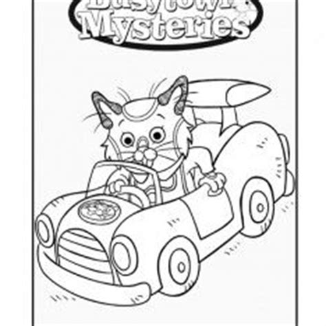 richard scarry pages coloring pages