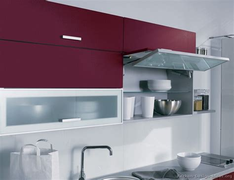bifold kitchen cabinet doors pictures of kitchens modern red kitchen cabinets