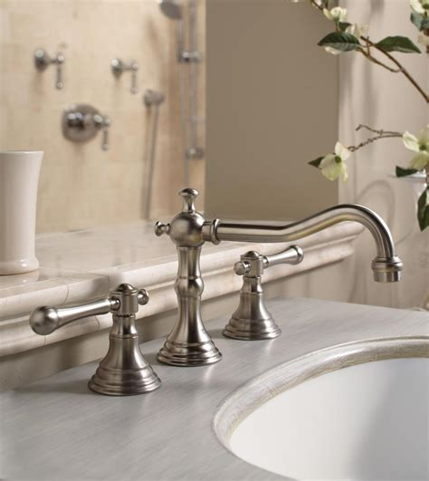 amazon bathroom sink faucets grohe 20134000 bridgeford 2 handle bathroom faucet touch