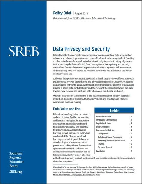 data security policy template gallery templates design ideas