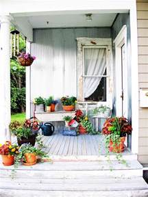 Home And Garden Ideas For Decorating Shabby Chic Decorating Ideas For Porches And Gardens Outdoor Spaces Patio Ideas Decks
