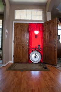 Blower Door Testing by Ductwork Oasis Air Conditioning Bakersfield Ca Oasis