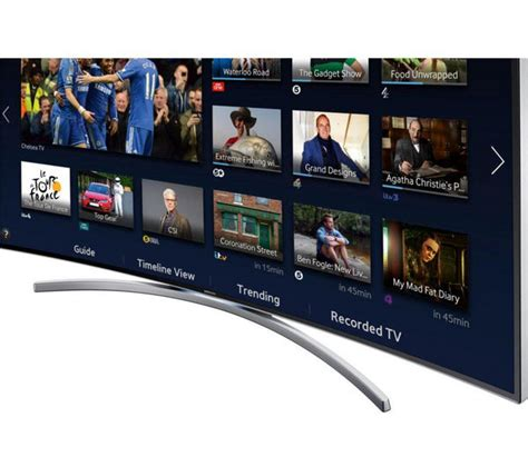 samsung ue65h8000 smart 3d 65 quot curved led tv deals pcw