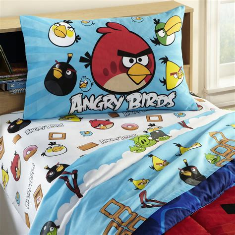 Angry Birds Bed Set Angry Birds Sheet Set Home Bed Bath Bedding Sheets