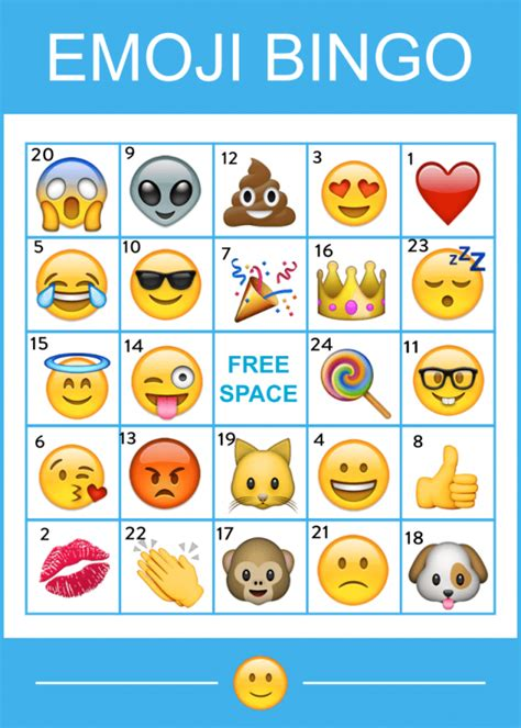 printable christmas emojis free printable emoji bingo game catchmyparty com