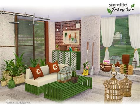 sims 4 foyer gardening foyer by simcredible at tsr 187 sims 4 updates