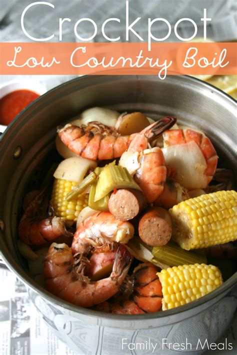 country recipes crockpot low country boil family fresh meals