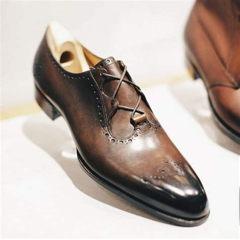 Handcrafted Shoes - designer wear handcrafted genuine leather italian