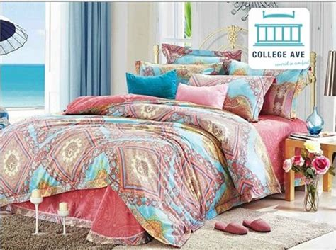 Persian Brush Twin Xl Comforter Set College Ave Designer Bed Sets For College