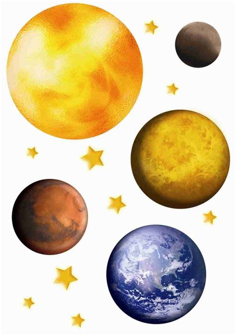 planets wall stickers planets wall decals rosenberryrooms