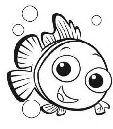 free fish coloring sheet nemo cherieballog