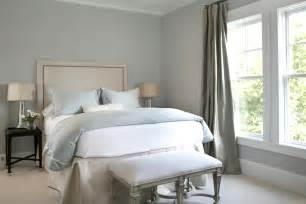 Bedroom Color Schemes Blue Gray Blue Gray Paint Colors Transitional Bedroom Martha