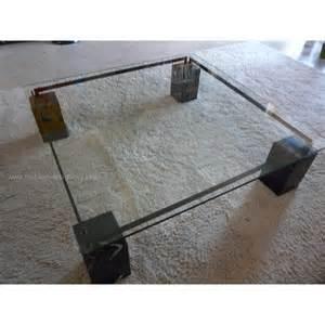 Table Basse En Verre Roche Bobois