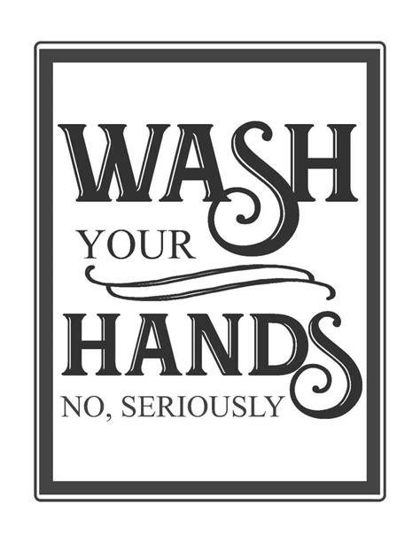 Printable Bathroom Signs