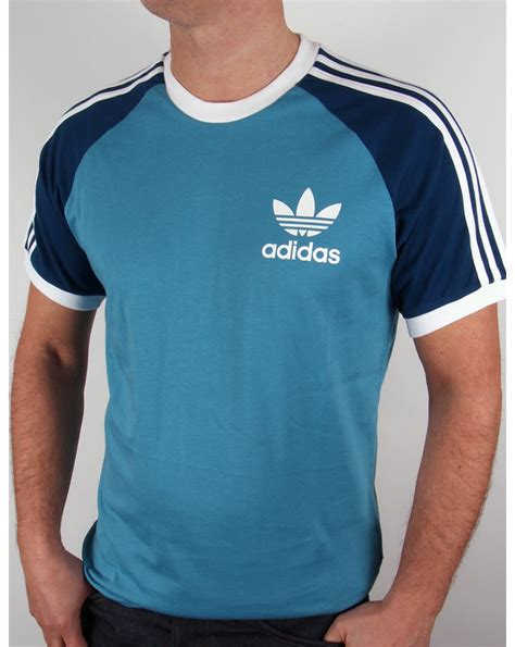 Tshirt L A P D navy adidas t shirt l d c co uk