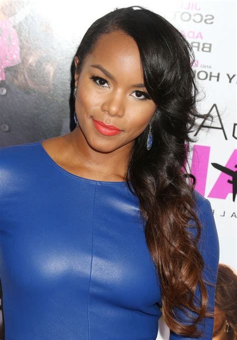 Letoya Luckett Hairstyles by Letoya Luckett Layered Black To Brown Ombre Side