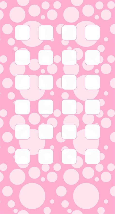 wallpaper hitam cute polka dot pola untuk anak perempuan rak merah muda