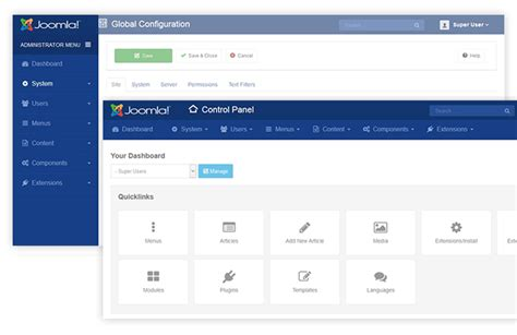 ja admin joomla admin template alpha version released
