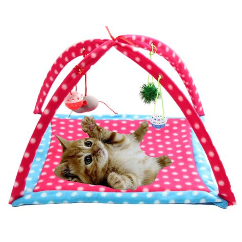 dog tent bed pet dog cat mobile multifunctional playing tent toys