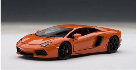 Mainan Die Cast Cars 4 autoart 54647 lamborghini aventador lp700 4 orange 1 43