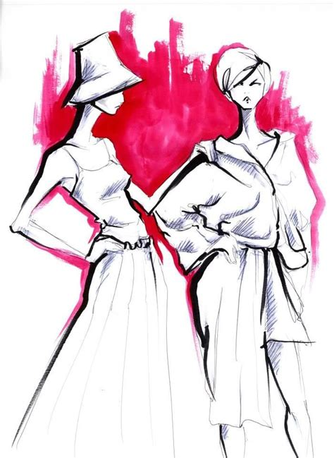 fashion illustration markers 55 best lara wolf images on fashion drawings