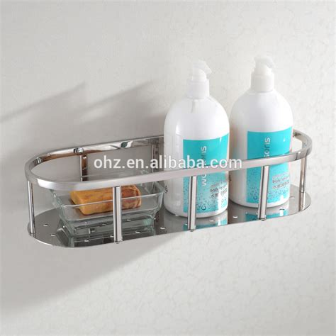 bathroom shower shelves stainless steel 6610 bathroom shelves and stainless steel shower single