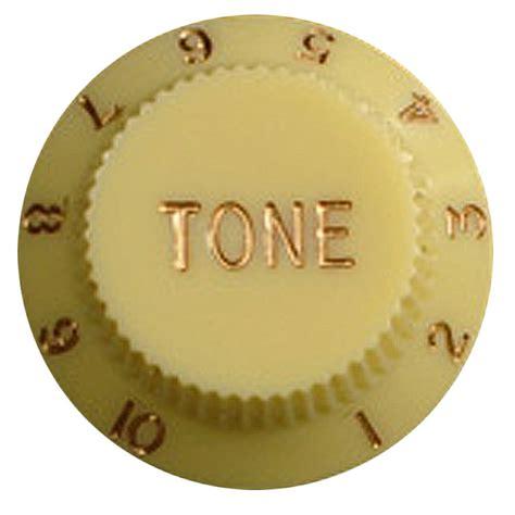 Stratocaster Tone Knobs by Strat Tone Knob Yellow