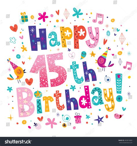 15th Birthday Card Messages