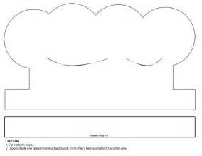 Paper Hat Template by Chef Hat Paper Craft Template 4 Lesson Plans