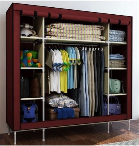 folding portable light fabric cloth wardrobe closetbig