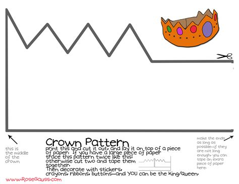 How To Make Crowns Out Of Construction Paper - a crown rainy days sun days
