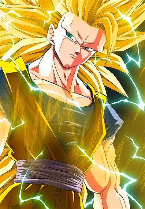 Goku Ss3 goku chang e 3 and on