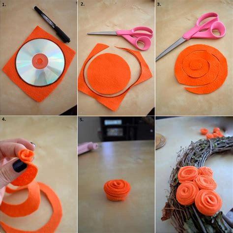 diy flower projects diy flower wreath alldaychic