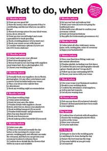 simple wedding planning what to do when your wedding checklist wedding checklist printable wedding and