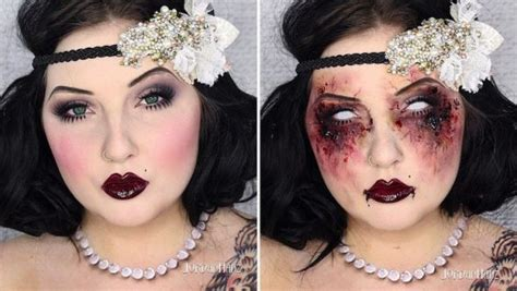 zombie flapper tutorial zombie flapper makeup tutorial