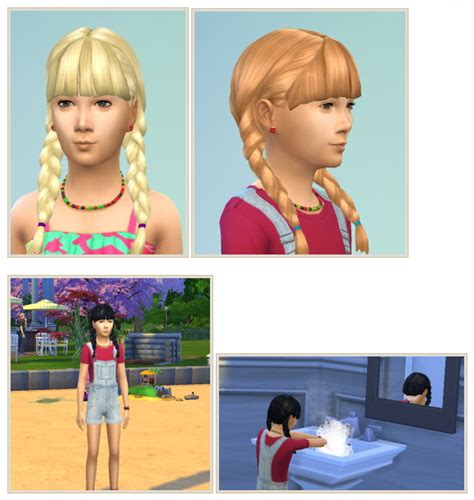 pay housebeautiful com sims 3 pigtails with bangs pigtails with bangs at