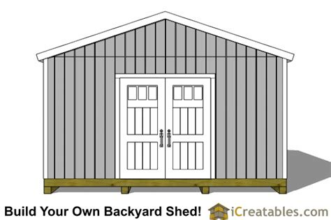 dan ini free plans for 16x24 shed small storage buildings maret 2017