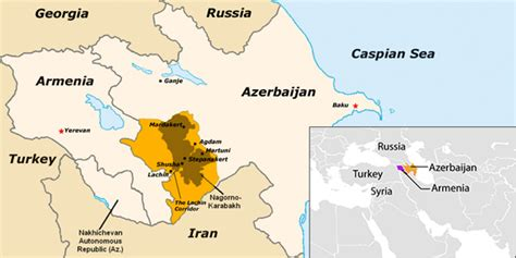 middle east map azerbaijan middle east conflict risks overspill into the caucasus sipri