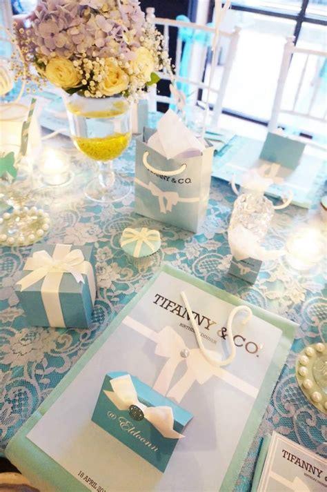 tiffany themed birthday party kara s party ideas tiffany co themed birthday party