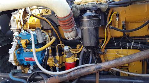 peterbilt  exhd cat  ek engine  full temperature youtube