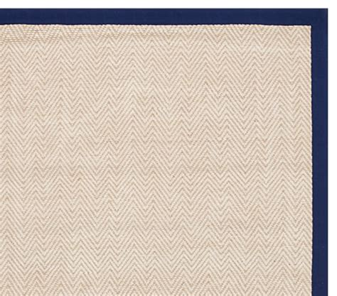 jute rugs with borders chenille jute thick solid border rug navy pottery barn