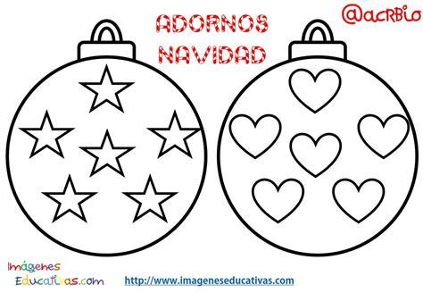 dibujos de navidad para pintar y recortar bolas de navidad colorear 2 imagenes educativas