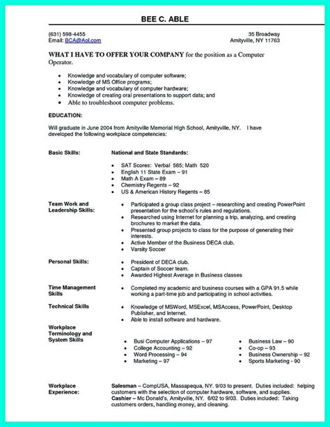 career objective for ms in computer science 2695 best images about resume sle template and format