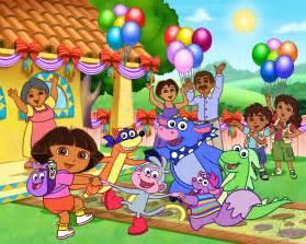 dora explorer gang chipmunks tunes babies amp stars adventures series wiki